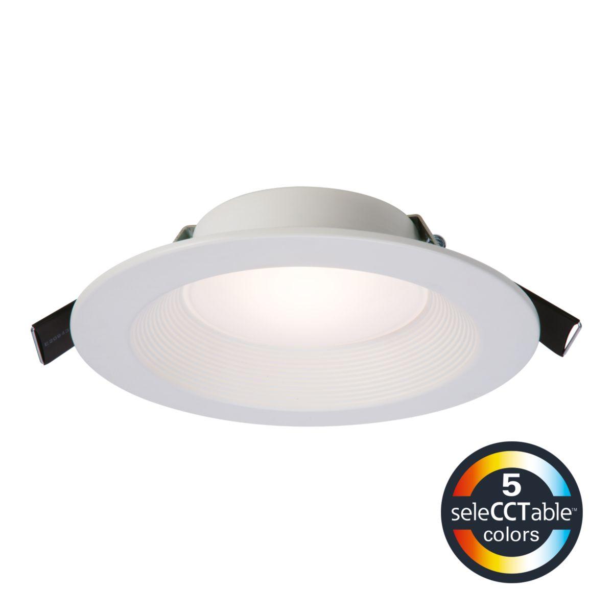 "RL6-DM LED 6"" Direct-Mount SeleCCTable™ Downlight"