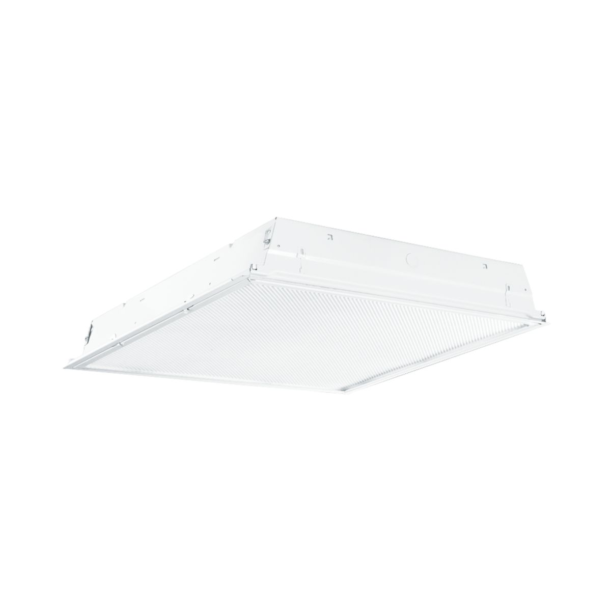 Troffer - Residential 2-Lamp, 2 ft.