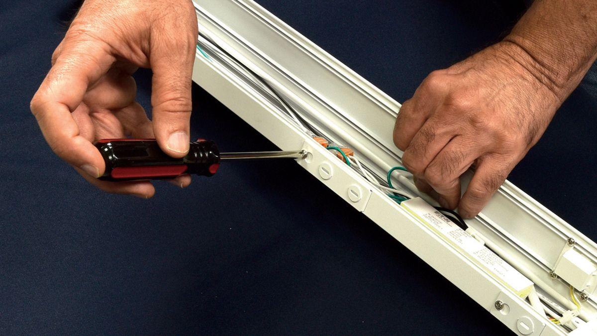 Wiring flexibility allows space savings