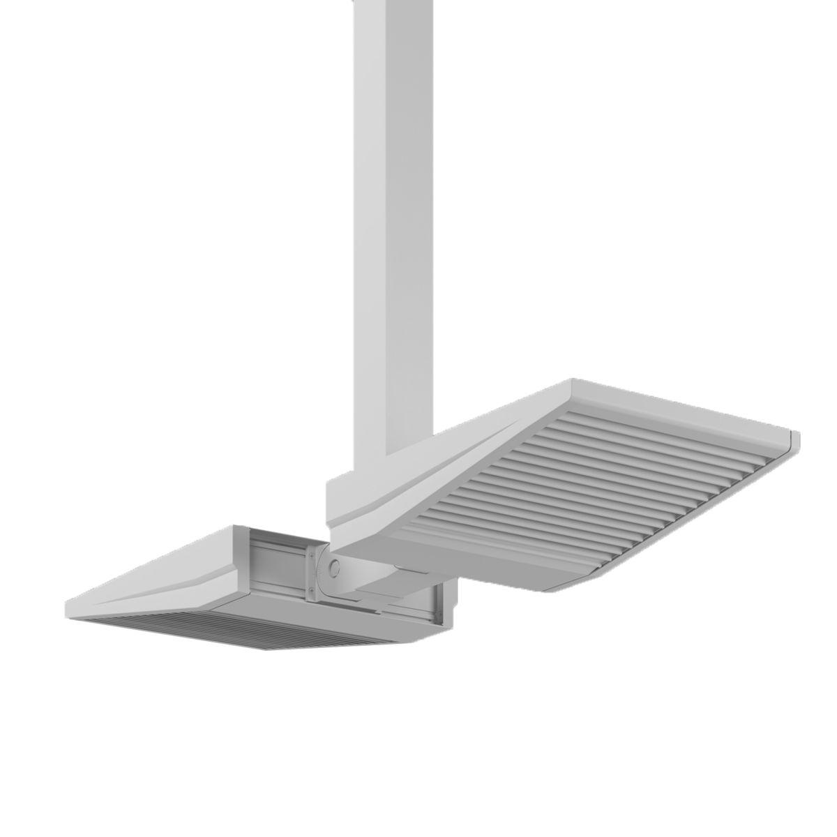 ASYX 2 LED Asymmetric Floodlight - Dual Pendant