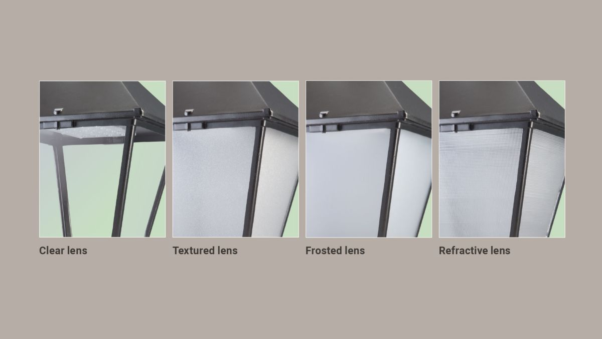 Four lens options