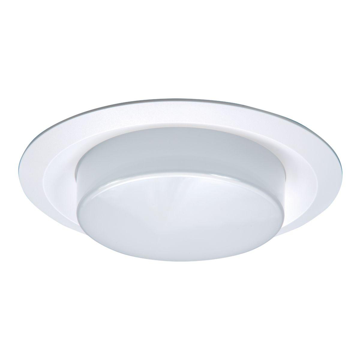 6160 Drop White Plastic Lens