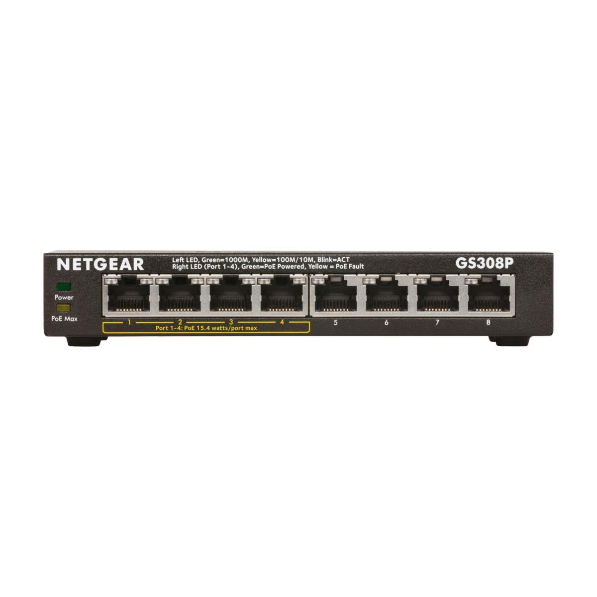 GS308P-100NAS Unmanaged Network Switch