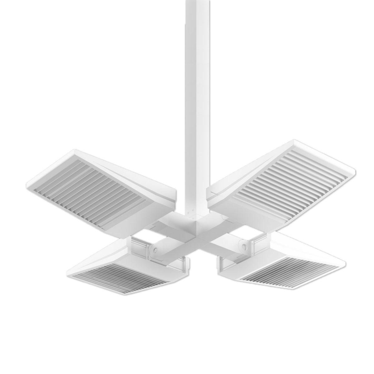 ASYX 2 LED Asymmetric Floodlight - Quad Pendant