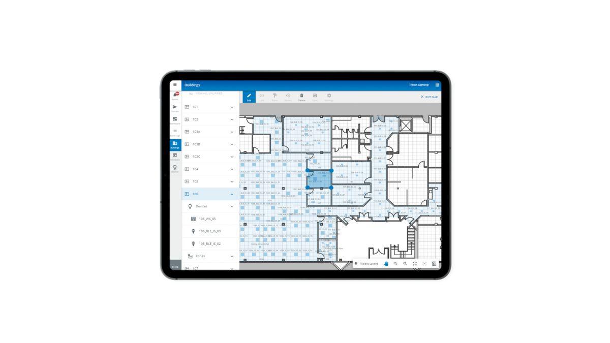 Manage Lighting Using Your Floorplan