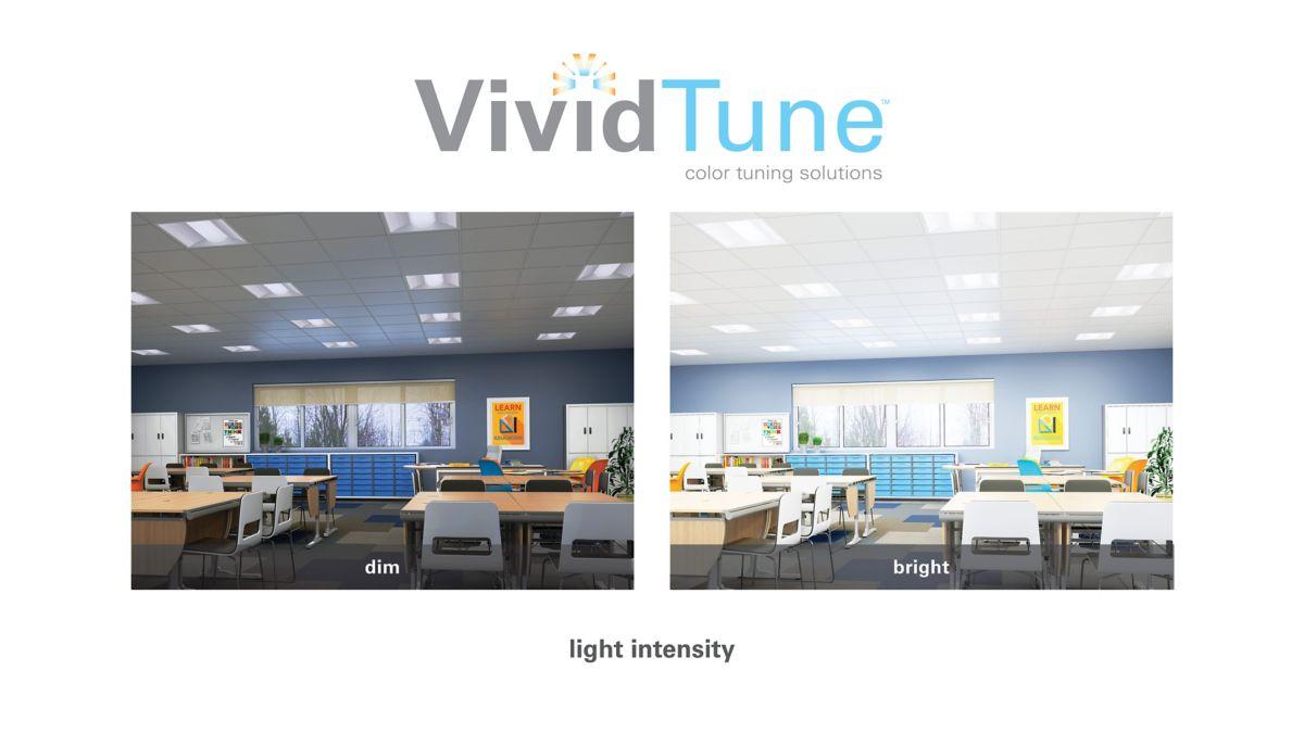 VividTune fine-tuning of light
