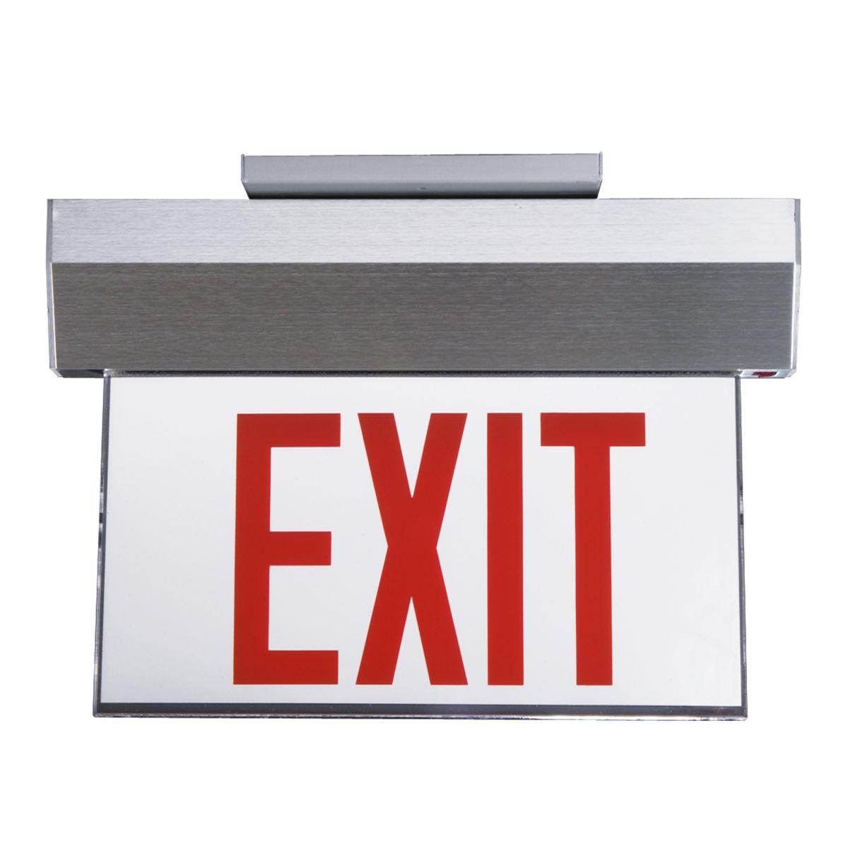 Marathon Surface Edge-Lit Exit Sign