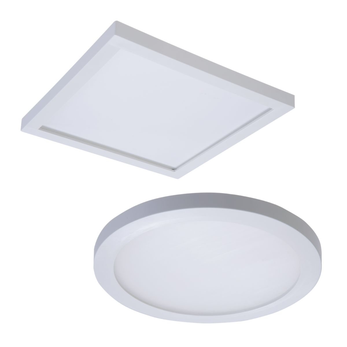 """SMD6 LED 6"""" Round/Square Surface-Mount Downlights"""