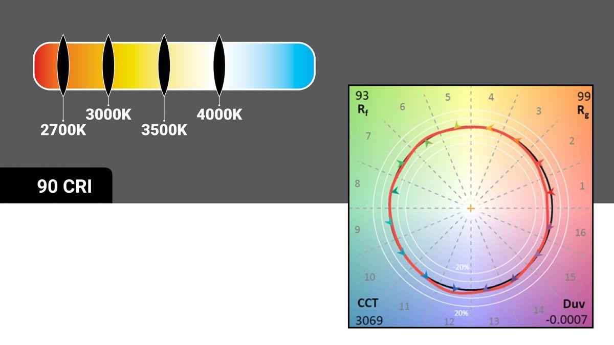 Color Temperature Options