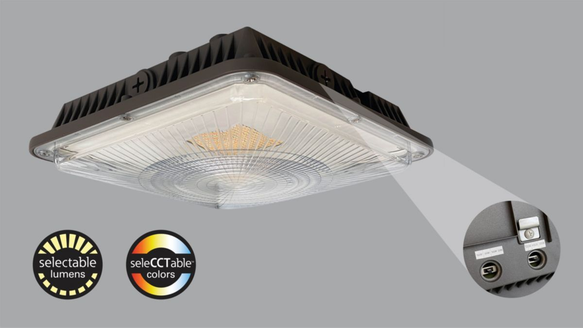 Selectable Lumens and CCT