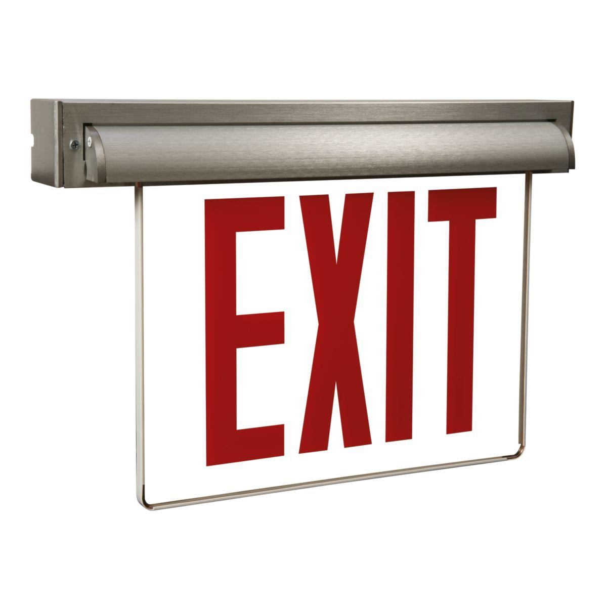 AUX Series Edge-Lit Exit Sign